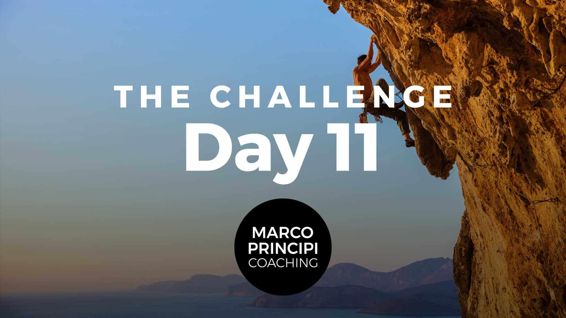 Marco Principi YT Cover The Challenge Day 011