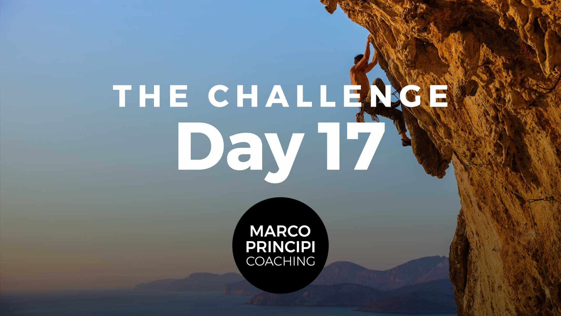 Marco Principi YT Cover The Challenge Day 017
